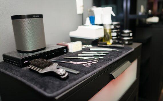 hair salon utensils